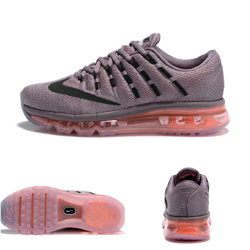 basket femmes air max 2016 pas cher gray top black