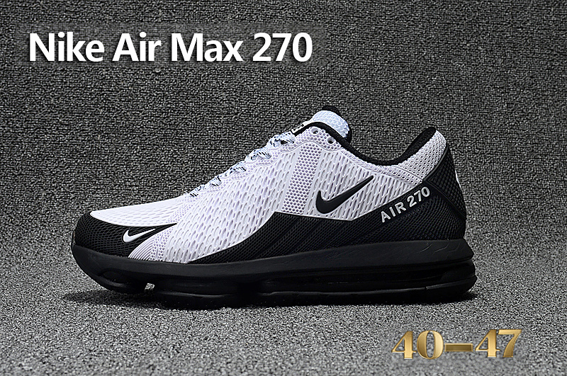 reputable site d87bd 0664e 270 Classic Sneakers Chaussures Nike Running Air Blanc Sport
