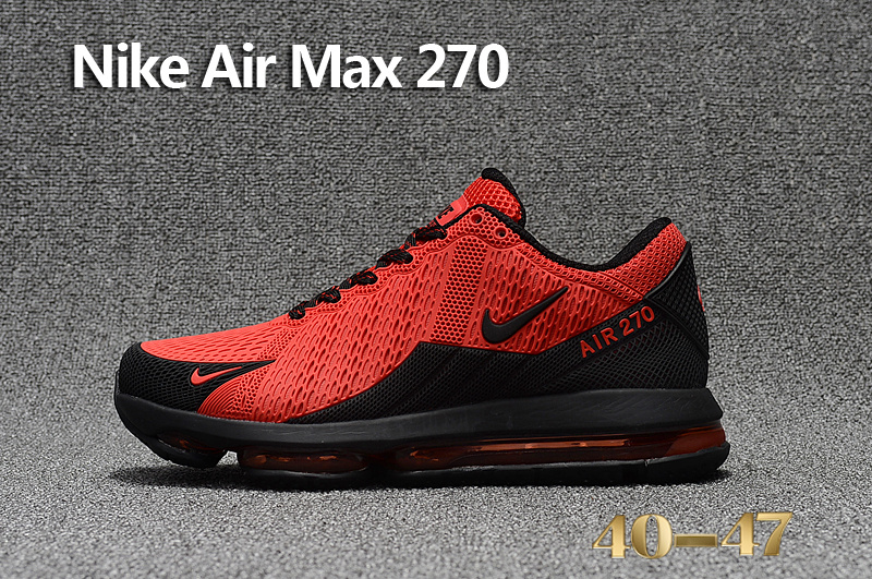 sneakers sports nike air max 270 running chaussures fire