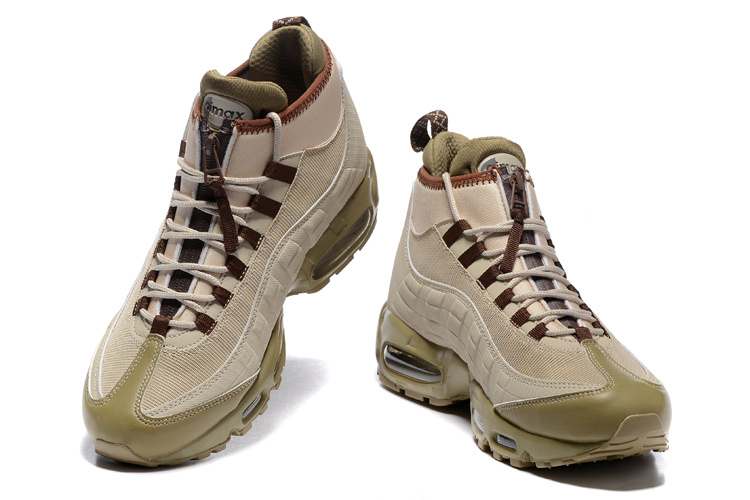 nike air max 95 sneakerboot kaki