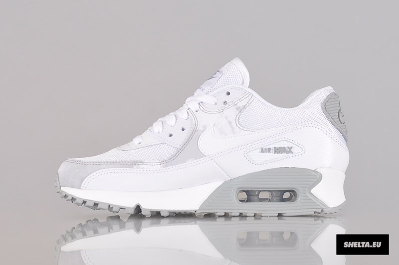 best sneakers ed4a6 5329c ... pour pas cher chaussures nike 57a0c 9e18b  cheap femmes air max 90 chaussures  2015 foot blanc new 3e16a 32740