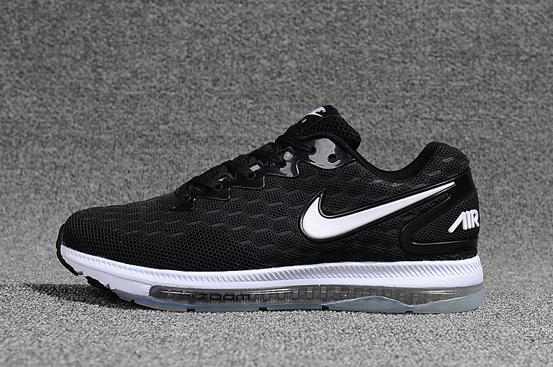 zoom all out flyknit nike chaussures running Noir Blanc 2013